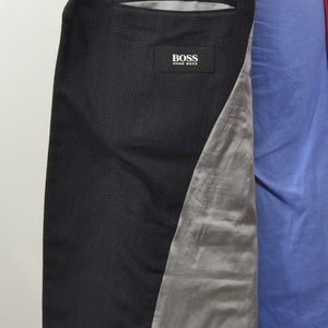 Hugo Boss Suits & Blazers - Hugo Boss 42L Sport Coat Blazer Suit Jacket Black